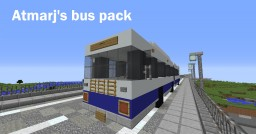 Bus Pack (4 schematics) Minecraft Map & Project