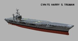 USS Harry S. Truman (CVN-75)  1:1 scale Minecraft Map & Project