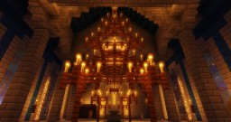 Medieval Cathedral (c.1100-1200) Minecraft Map & Project