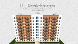 ITL Residences Q3 Building A | With full Interiors + Download Link Minecraft