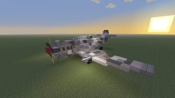 "R.D.O Luftkorps KF-80 ""Outlaw"" Dive Bomber Minecraft Map & Project"