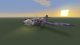 "R.D.O Luftkorps KB-113 ""Brigand"" Heavy fighter-bomber Minecraft Map & Project"