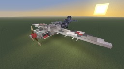 "R.D.O Luftkorps SF-32 ""Bandit"" Fighter Plane Minecraft Map & Project"