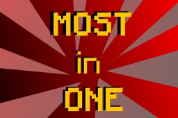 Most in ONE [Official] Minecraft Map & Project