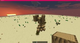 Small Dead Tree without decoration/leaves Minecraft Map & Project