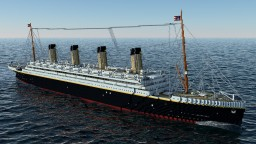 RMS Olympic 1913 Minecraft Map & Project