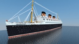 RMS Queen Mary 1936 Minecraft