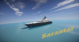 Sarastar | Super Yacht (ShipSide) Minecraft Map & Project