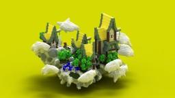 HeavenlyTown Minecraft Map & Project