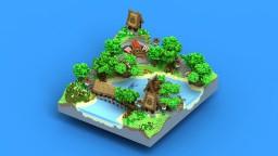 Lobby - ParrotsVillage Minecraft Map & Project