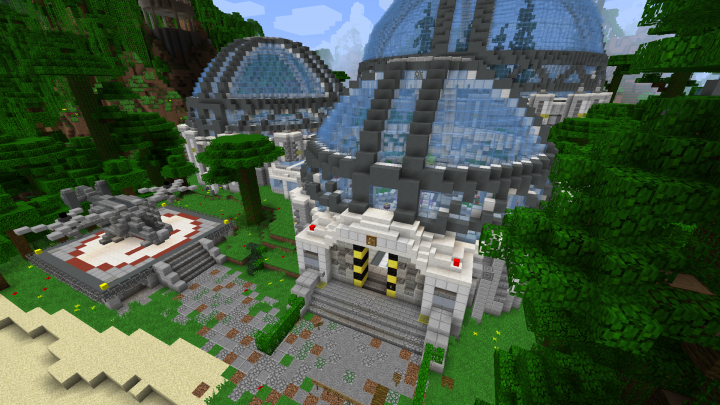 DanTDM LAB Remasterd Minecraft Project on