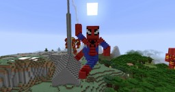 Spider-Man Statue Minecraft Map & Project