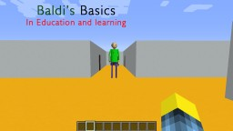 Baldis Basic School Minecraft Map & Project