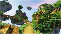 CHECK OUT YOUTUBE VIDEO!! Minecraft Timelapse : Floating Island Base! (WORLD DOWNLOAD) Minecraft Map & Project