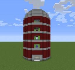 Automatic Sugar Cane Silo Minecraft Map & Project