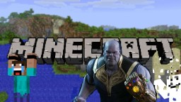 Sharpalex1000 found Thanos in minecraft! Minecraft Blog Post
