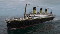 RMS Kingship (Full Interior) Thanks for 500+ Views!!! Minecraft