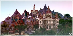 Medieval Fantasy City - [McBCon-Showcase by Vandug] Minecraft Map & Project