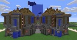 Small Server Spawn Medieval [1.12.2] Minecraft Map & Project