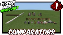 """How Do Comparators Work?"" [1] How To Redstone Minecraft Map & Project"