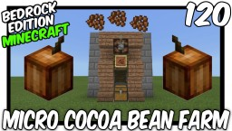 Micro Cocoa Bean Farm Bedrock Edition Minecraft Map & Project