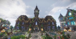 Medieval city Watergate (under construction) Minecraft