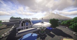 We reproduced MagicKingdom in Florida Minecraft