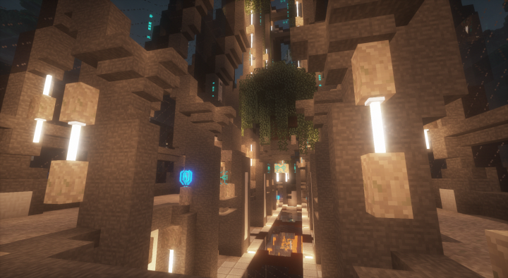 Location inspired by the Halo 3 multiplayer map, Epitaph.