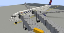 Minecraft Airbus A350XWB Minecraft Map & Project
