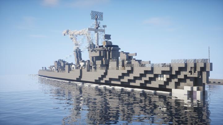 USS Capps Fletcher Class Destroyer DD-550