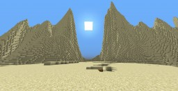 Desert Island Minecraft Map & Project