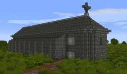Norman Gothic-Romanesque Cathedral Minecraft Map & Project