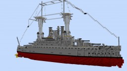 USS South Carolina (1:1 scale South Carolina class American BB) Minecraft