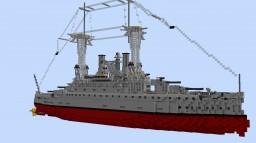 USS South Carolina (1:1 scale South Carolina class American BB) Minecraft Map & Project