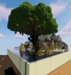Tree Medium Size Minecraft Map & Project