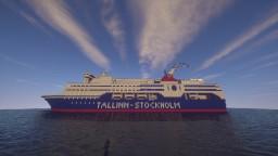 Tallink m/s Regina Baltica Minecraft Map & Project
