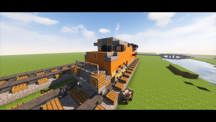 BNSF ES44AC Minecraft Project