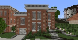 Two-Story Traditional Brick House - Dustworks Server Minecraft Map & Project