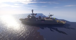 Leewin-class General-Purpose Frigate Minecraft Map & Project