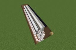 Ultra-Slim & Flush 28x11 Sand Door Minecraft Map & Project