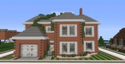Ivystone - Nearly fully furnished brick house Minecraft