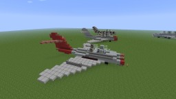 Mikoyan-Gurevich MiG-15 Minecraft Map & Project