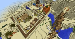 The Casttle of Desert Minecraft Map & Project