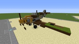 Bf-109E Minecraft Map & Project