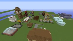 The OppositesYT Town Minecraft Map & Project