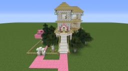 SuperGirlyGamer's House (Smaller Version) Minecraft Map & Project