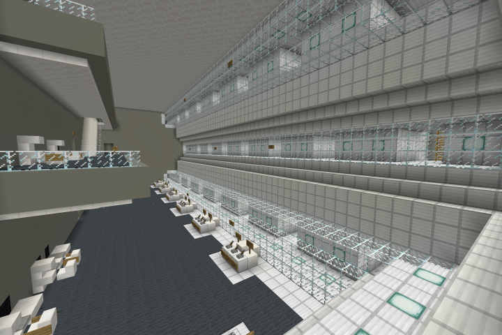Tunnel Intersection Control Room - Has 24 Working 3x3 Doors To Connect Any Tunnel To Another