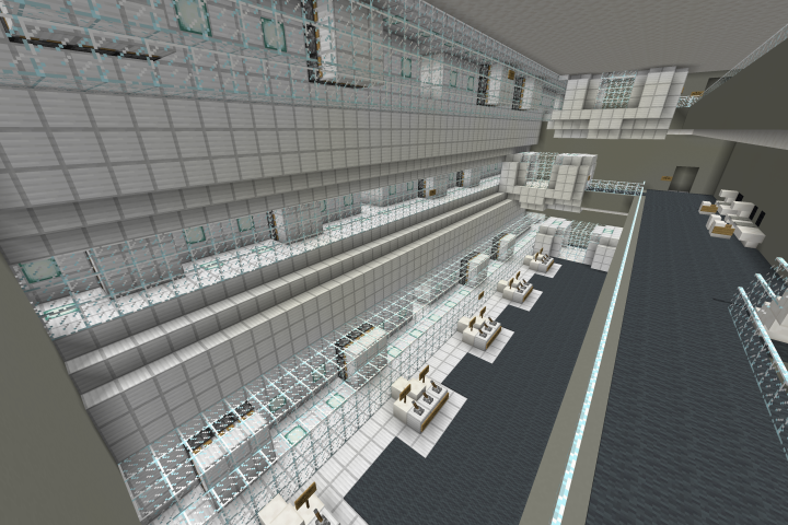 Holding Tanks & Pumping Control Room - Has Working Doors And Pumps To Push Any Material To Any Part Of The Ship