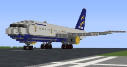 Boeing 757-200 Minecraft Map & Project