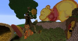 Winnie the Pooh Minecraft Map & Project